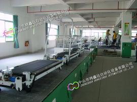 广州跑步机生产线健身器材装配线动感单车流水线