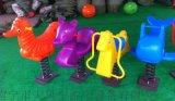 南寧公園戶外搖搖樂 小區彈簧搖馬玩具