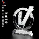 廣州水晶獎盃刻字訂製 頒獎獎盃 紀念獎盃