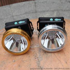 头灯led强光充电白光黄光钓鱼灯打猎割菜矿灯户外防水头戴手电筒