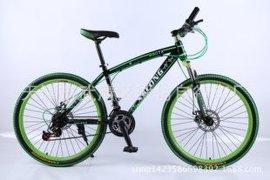 厂家批发 26寸自行车 采配一体轮森林狼山地车 天津自行车公司