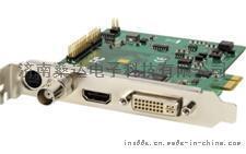 DVI/VGA高清1080P@30广播级非编卡 高清视频会议采集卡PCI-E接口