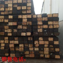 矿用油浸枕木 道岔用铁路用防腐枕木