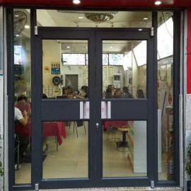 深圳閉門器系列肯德基門 面包店推拉肯德基門