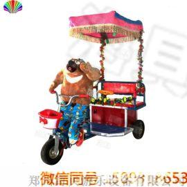 新款小洋人蹬车  机器人蹬车  **游乐儿童三轮车