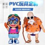 廣東oem塑料玩偶玩具廠家 pvc注塑卡通公仔定製 搪膠娃娃加工定做