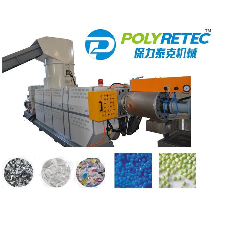 PE大棚膜造粒机, 薄膜造粒机, 塑料颗粒机组