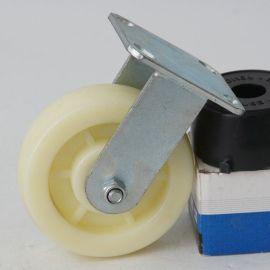 6寸白尼定向脚轮/聚乙烯载重耐磨轮子轱辘