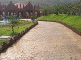 印模混凝土 印模砼 彩色印花地坪,壓模地坪材料