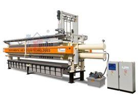 景津板框压滤机 100-600平方压滤机 全自动板框压滤机 全自动隔膜压滤机