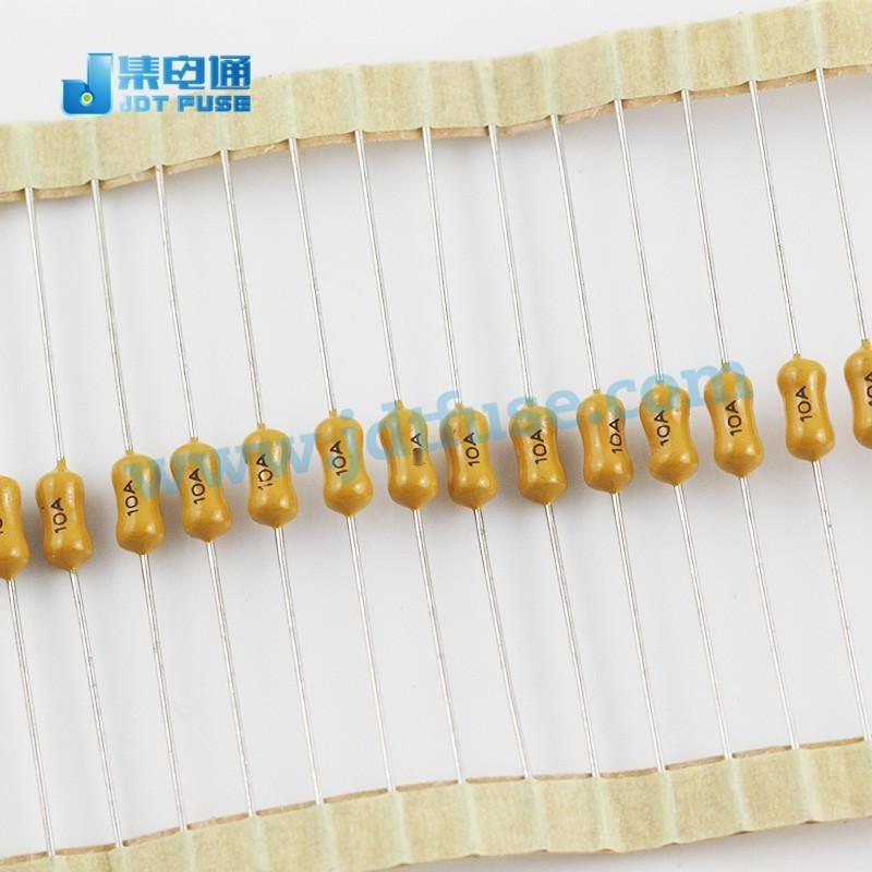 JFP2100TL集电通电阻式保险丝10A/125V 插件黄色慢断