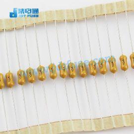 JFP2100TL集電通電阻式保險絲10A/125V 插件黃色慢斷
