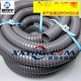 PVC塑筋增強軟管/纏繞管/牛筋管/龍骨增強軟管/塑料排水管/排污管