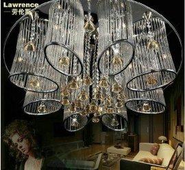 欧式玻璃水晶吸顶灯