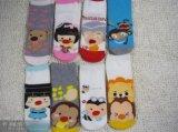 純棉卡通休閒女襪