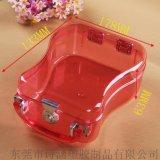 产销中高档硬质塑料包装盒 手提塑料展示盒 厂家直销SH-6447梨形