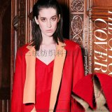 承接訂單 2015新款雙面羊毛面料 流行女裝雙面呢 大衣面料布料