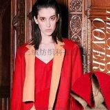 承接订单 2015新款双面羊毛面料 流行女装双面呢 大衣面料布料