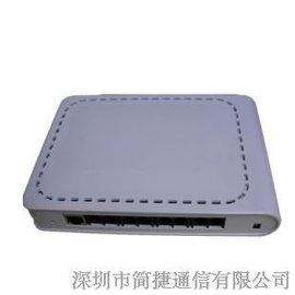 简捷8路无线固话电话录音盒 网络监听 网络查询 适合各种无线座机TD移动座机G3无线商话等