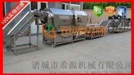 客户好评 陕西真空包装产品XY16滚筒袋清洗风干流水线  自动化节能** 希源机械
