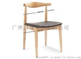 咖啡厅桌椅卡座沙发组合 美式乡村奶茶店茶餐厅 Loft拼色皮质餐椅