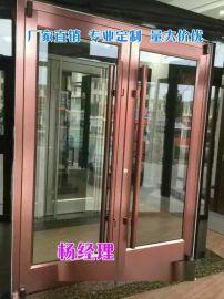 低價促銷尺寸可定制高頻焊接2mm鋁型材玻璃門