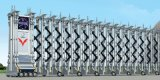 电动门-伸缩门安装-不锈钢电动伸缩门厂家
