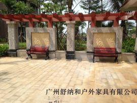 公园防腐木公园椅,园林座椅,别墅休闲椅