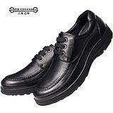 手工缝线牛皮休闲真皮鞋(CS05010-1)