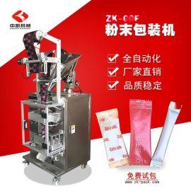 【厂家】食品袋装姜粉茶包装机 立式全自动粉末包装机 粉剂包装机
