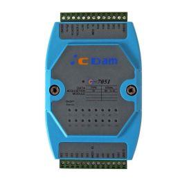 C-7051D 16路隔离数字量输入模块,(带LED显示)兼容I-7051D  DI
