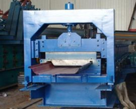 沧州压瓦机械有限公司475型楼承板设备,彩钢成型设备,彩钢压瓦机