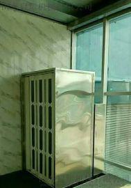 启运  定制安装 家用小型电梯 二层三层别墅电梯 室内室外电梯 家用阁楼液压电梯
