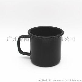创意搪瓷杯个性复古搪瓷水杯卡通马克杯商务水杯广告杯logo定制