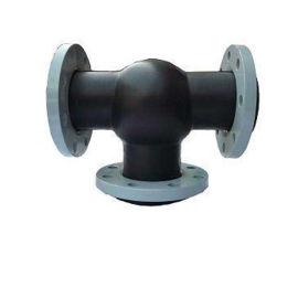 厂家加工 单球体橡胶软接头 管道减震器 型号齐全