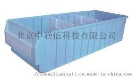 收纳盒防静电元件盒斜口零件盒长方形塑料盒无盖分隔盒