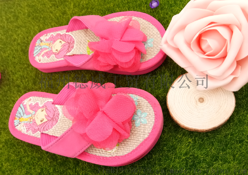 【厂家直销】夏季女童公主卡通人字拖 室内拖鞋 防滑软底耐磨夹拖