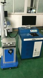 成都精密机械零件激光刻字机、20瓦光纤激光打标机现货厂家直销