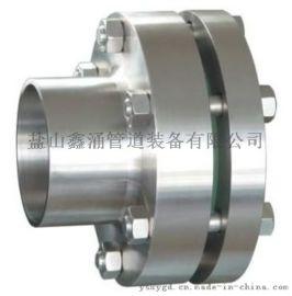 不锈钢304管道视镜鑫涌牌法兰视镜设备用直通视镜
