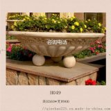 人造砂岩花钵|人造石花盆|别墅会所种植欧式花钵