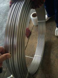 304 316L不锈钢无缝盘管 10x1