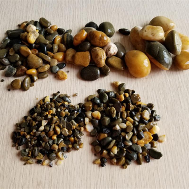 【陕西鹅卵石滤料】_天然1-2公分五彩鹅卵石价格!
