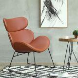 休閒椅單人 皮椅子 懶人椅 咖啡廳椅 設計師家具