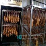 醬板鴨燻蒸烤爐,250公斤薰鴨設備,華鋼板鴨煙燻爐