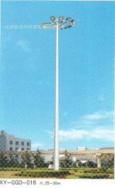 四川成都高杆灯厂家报价LED、金卤灯光源