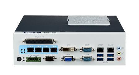 研華AIIS-1240機器視覺工控機,支持英特爾酷睿™ i7/i5/i 3 CPU,有源乙太網緊湊型系統, 4通路千兆網供電