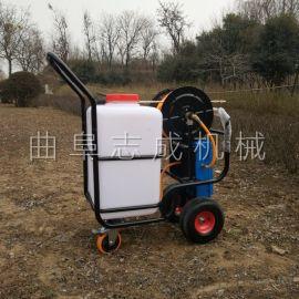 60L推车式四轮电动喷雾器果树除虫打药机