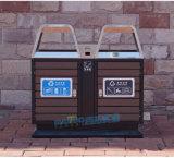 户外垃圾桶果皮箱室外垃圾桶小区公园街道钢木垃圾箱