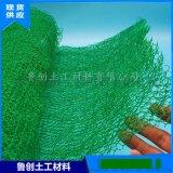 植草护坡三维植被网 绿化三维土工网垫 护坡三维网