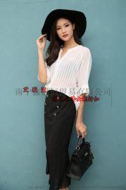 杭州一線漵牌 品牌女裝走份批 高端品牌折扣女裝批發